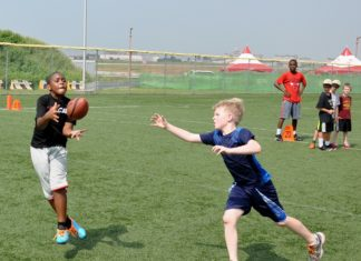 Flag Football drill