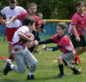 Youth Flag Football | Flag Pull